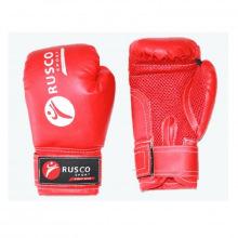 Перчатки боксерские 10 унц. детские кож.зам. красные