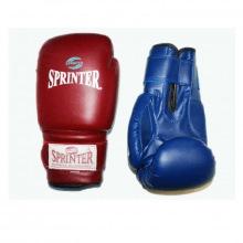 Перчатки боксерские 8 унц. синий и красный.