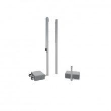 Универсальные стойки мобильные с противовесами алюм проф 80х80 мм