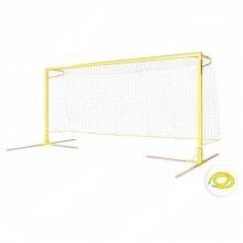 Воротадля пляжного футбола алюминивые 5,5х2,2 глубина ворот 1,5 м профиль 100х120 мм
