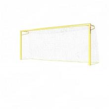 Воротадля пляжного футбола алюминивые 5,5х2,2 глубина ворот 1,5 м профиль 100х120 мм (для закрытых п