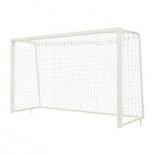 Ворота для мини-футбола/гандбол алюминивые 3х2 глубина ворот 1,35 м профиль 80х80 мм (для зала и ули