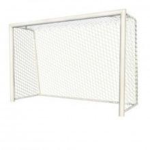 Ворота для мини-футбола/гандбол алюминивые 3х2 глубина ворот 1 м профиль 100х120 мм (для зала и улиц