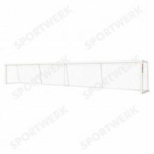 Ворота для игры в голбол алюминиевые 9х1,3 м профиль 75х40 мм