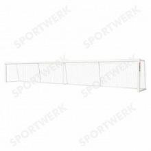 Ворота для игры в голбол алюминиевые 7х1,3 м профиль 75х40 мм