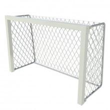 Ворота тренировочные алюминивые 1,8х1,2 глубина ворот 0,8 м профиль 80х80 мм (для зала и улицы)
