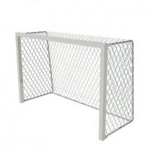 Ворота тренировочные алюминивые 2,4х1,6 глубина ворот 1 м профиль 80х80 мм (для зала и улицы)