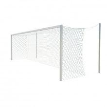 Ворота футбольные алюминивые 7,32х2,44 глубина ворот 2 м (стационарные)