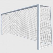Ворота футбольные юношеские алюминиевые 5х2 глубина ворот 1,5 м профиль 100х120 мм(для зала и улицы)
