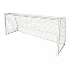 Ворота футбольные юношеские алюминивые 5х2 глубина ворот 1,5 м профиль 80х80 мм (для зала и улицы)