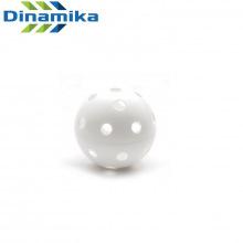 Мяч для флорбола белый