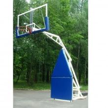 Стойка баскетбольная игровая мобильная складная, вынос 1,6 м