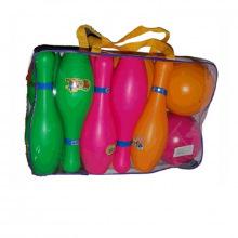 Кегли набор для боулинга, подростковый в рюкзаке