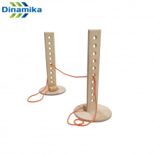 Стойки для прыжков в высоту из фанеры со шнуром 600 мм
