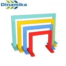 Дуги для подлезания прямоугольные цветные (комплект 4 шт)