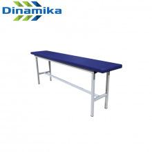 Скамейка для раздевалки 1200 мм сиденье с мягкой прослойкой