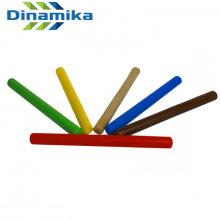 Палочки эстафетные цветные набор 6 шт (дерево)