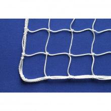 Сетка заградительная, ячейка 100*100, толщина нити 3,1 мм, узловая, белая