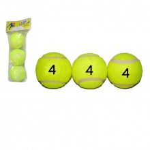 Мяч для большого тенниса (3 шт. в пакете)