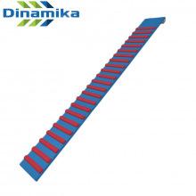 Доска ребристая с зацепами 1600 мм навесная (цветная)