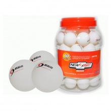 Мяч для настольного тенниса в банке 60 шт.