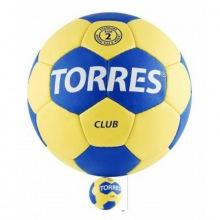 Мяч гандбольный матч. TORRES Club р.2
