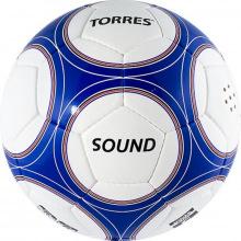 Мяч футбольный №5 трен. TORRES Sound