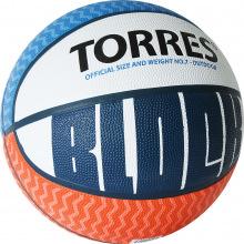 Мяч баскетбольный №7 TORRES Block люб.