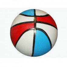 Мяч детский баскетбольный 14 см (цветной)
