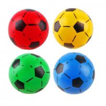 Мяч детский игровой футбольный рисунок 18 см латекс