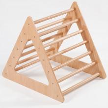 Треугольник модуль детский для восхождения на мост из дерева