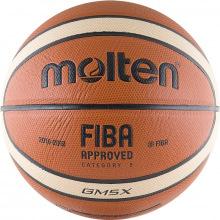 Мяч баскетбольный №5 Molten BGM5X матч.