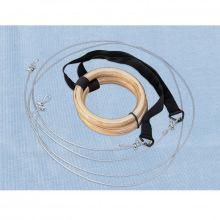 Кольца гимнастические с тросиком