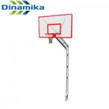Стойка баскетбольная под бетонирование вынос 1200 мм (уличная, разборная)