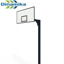Стойка баскетбольная с креплением на анкера вынос 1200 мм (уличная, разборная)