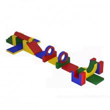 Игровой модуль детская полоса препятствий 18 элементов