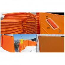Мат для горнолыжных трасс 2000х500х100 мм Тент (ппу) люверсы