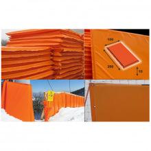 Мат для горнолыжных трасс 2000х1000х100 мм Тент (ппу) люверсы