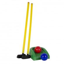 Игра Мини-гольф (клюшка 2 шт, лунка 3 шт, шар 2 шт) У473