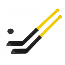 Игра Хоккейный набор (клюшка 2 шт, шайба) У886