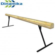 Бревно гимнастическое 5 м (на высоких опорах металл)
