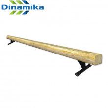 Бревно гимнастическое 5 м (на 300 мм опорах металл)