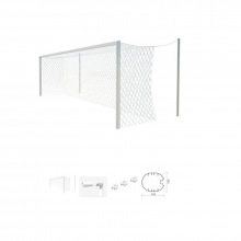 Ворота для игры в любительский футбол 5,6 Х 2,35 алюминиевые