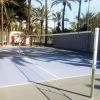 Сетка волейбольная EL LEON DE ORO без боковых лент. Стальной трос в ПВХ оболочке