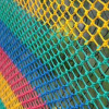 Сетка заградительная, ячейка 40*40, толщина нити 3,1 мм, узловая, четырехцветная