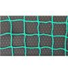Сетка заградительная, ячейка 40*40, толщина нити 3,5 мм, безузловая, зеленая