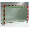 Сетка мини-футбольная, (2,00м*3,00м*1,0м*1,0м), толщина нити 3,5 мм, цвет- белый/зеленый