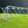 Сетка футбольная, толщина нити 5,0 мм, (7,5 м * 2,5 м * 1,5м * 1,5м) безузловая
