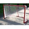 Сетка хоккейная (1,22м*1,83м*0,5м*1,15м), толщина нити 5,0 мм, безузловая
