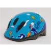 Шлем детский сине-голубой с дельфинами